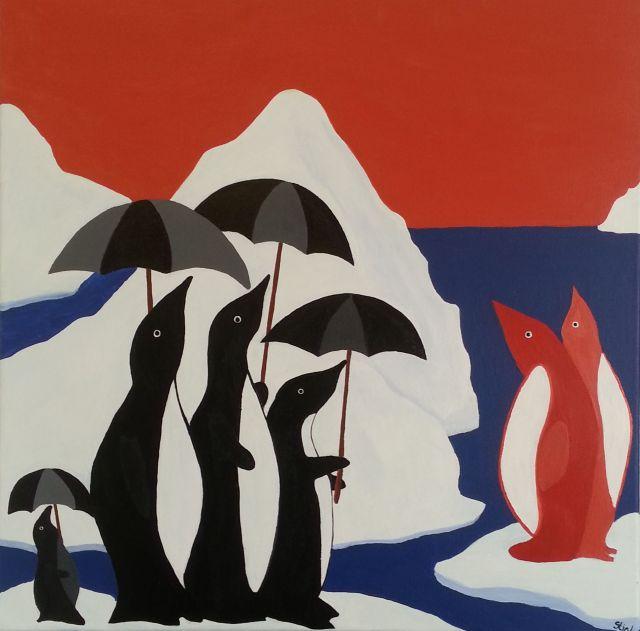 Stig Løvenkrands nr.118 Pingvins in Sun