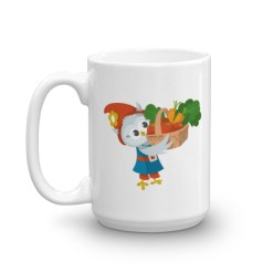 Grewwit's Veggie Basket Mug