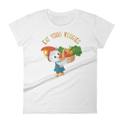 Grewwit Veggie Basket Women's short sleeve t-shirt