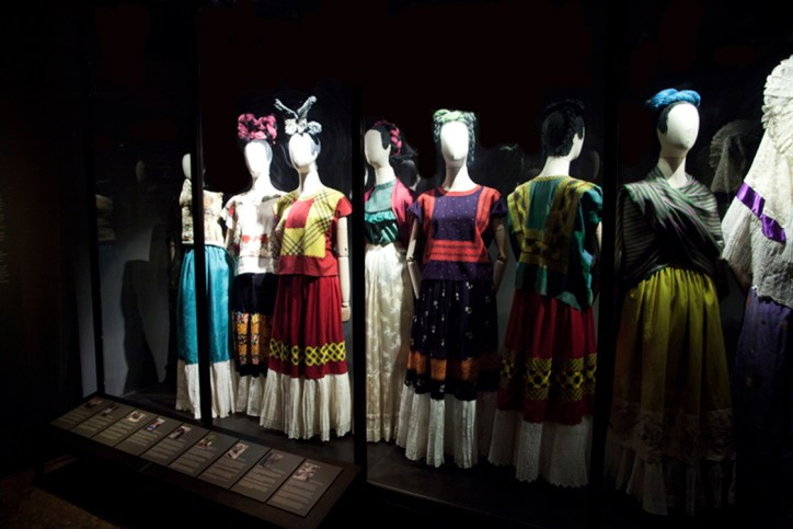 Art and Fashion Frida Kahlo Fashion Casa Azul Museum Appearances can be Deceiving
