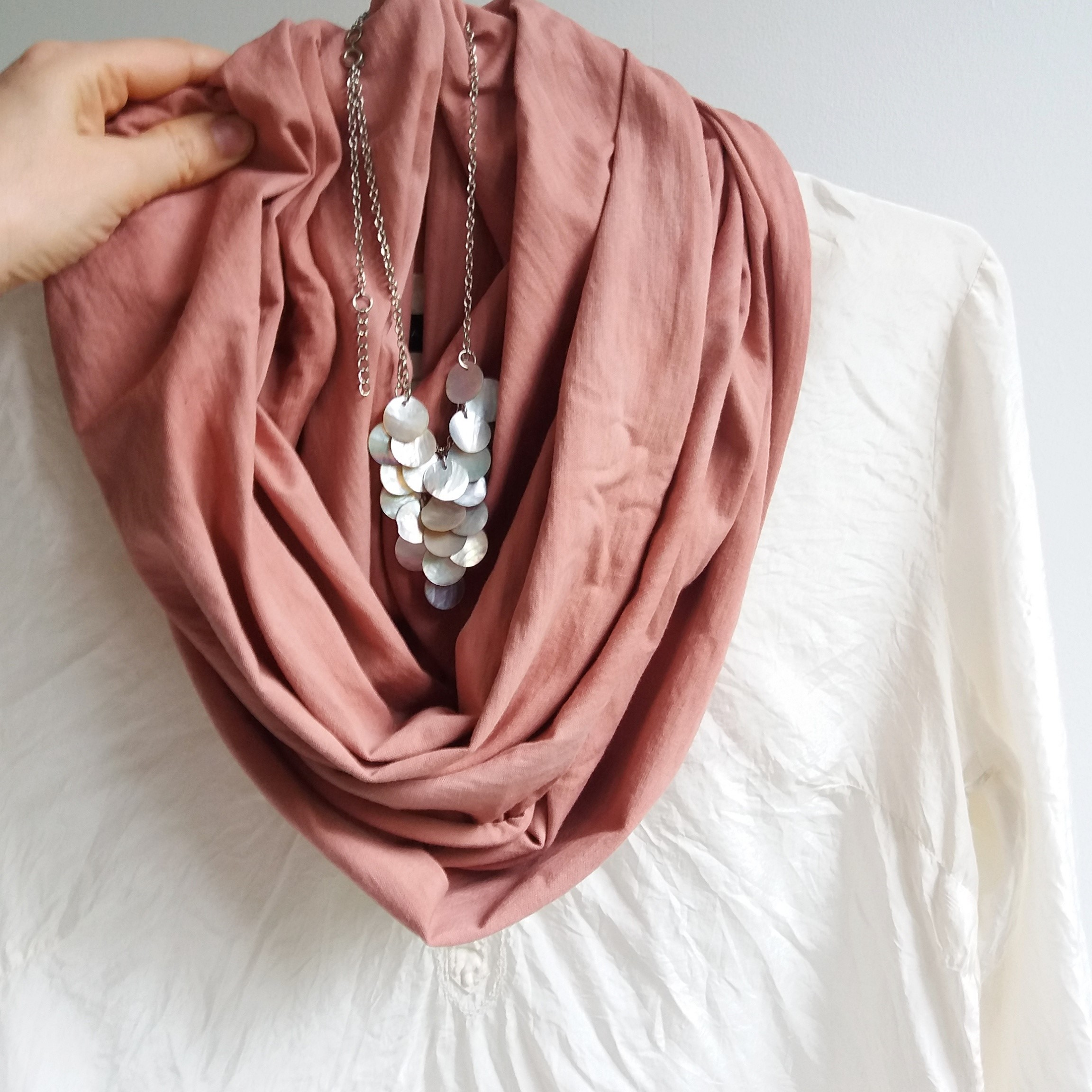 infinity accessories hthr normal lyst cashmere s scarves dove crew pink product in j jcrew scarf pale women gallery