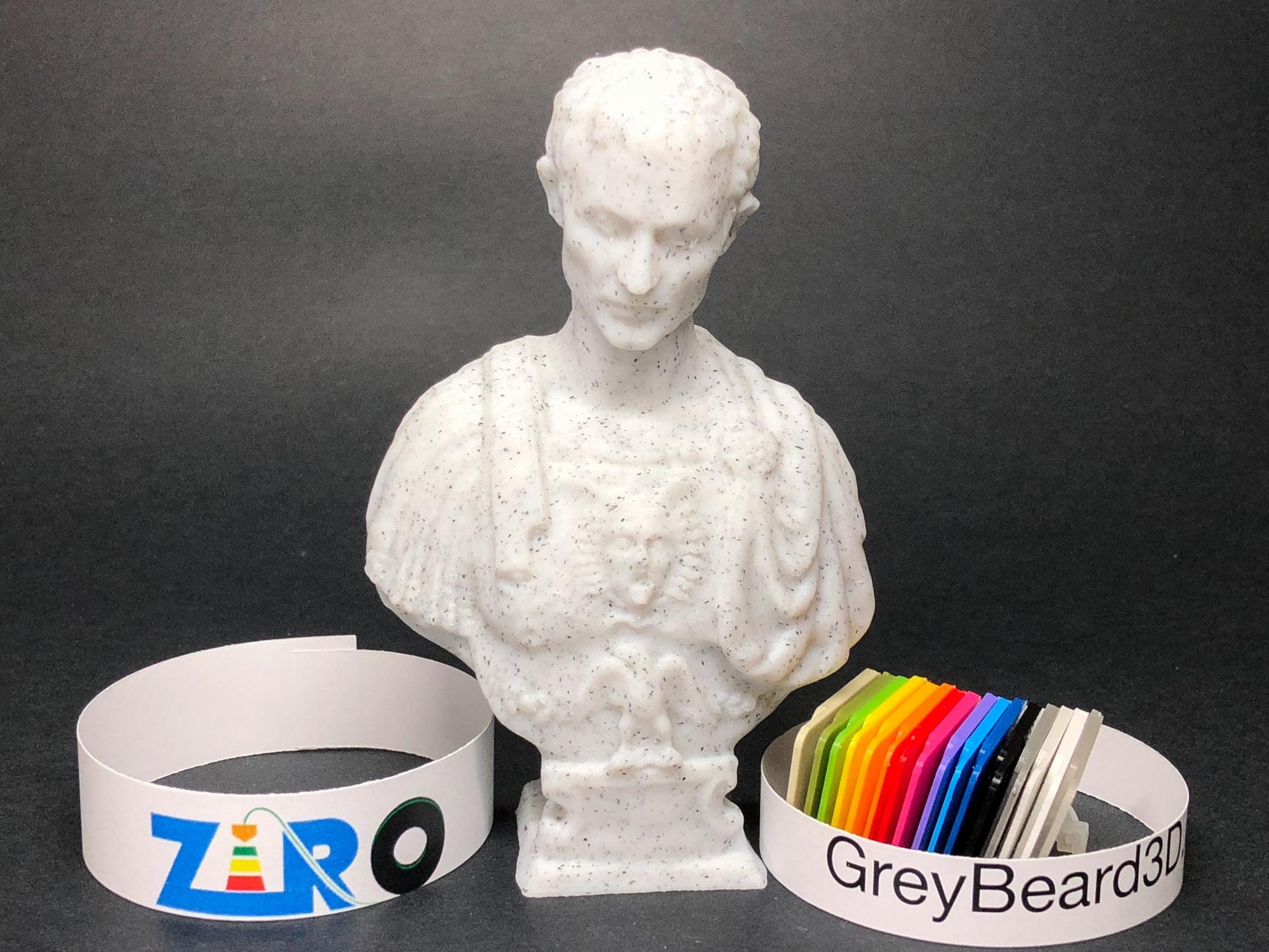 Ziro Marble Pla Greybeard3d