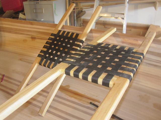 Building canoe seats part 2  greybeard canoes  kayaks