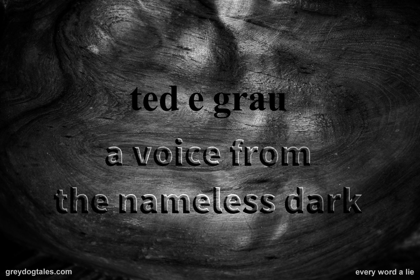 Ted E Grau: A Voice from the Nameless Dark - greydogtales