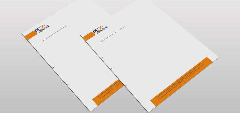 CaseStudie PExconsult Briefpapier