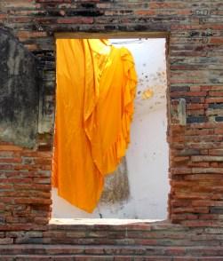 Buddha Through the Window - Wat Yai Chai Mongkhon