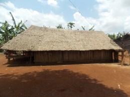 Traditional Hmong house