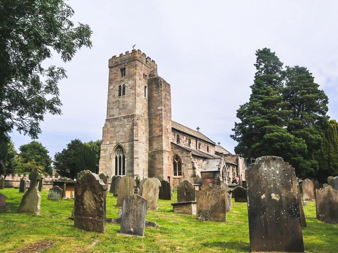 All Saints Church Ripley Village, Yorkshire