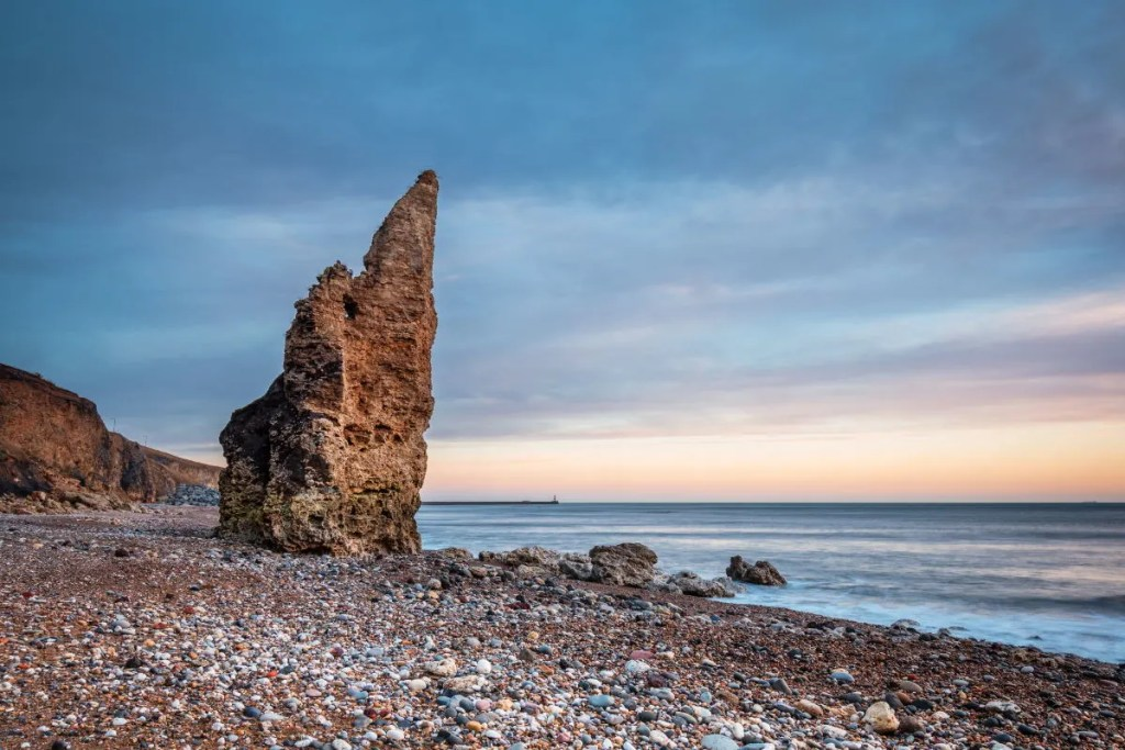 Glorious Seaham Beach - the best place in the UK to find Seaham sea glass