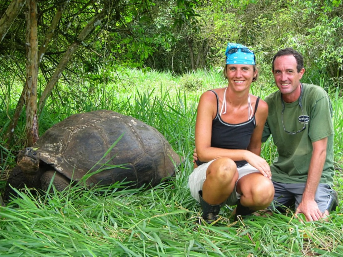 Liesbet and Mark, Galapagos Islands, Ecuador