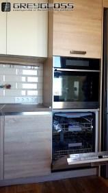 Встроенная посудомойка и духовка