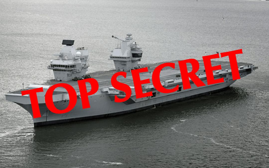 Top Secret Mission for HMS Queen Elizabeth