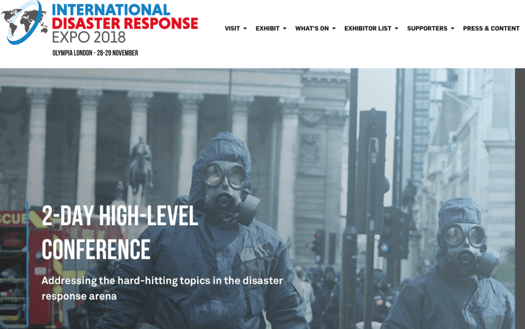 International Disaster Response Expo