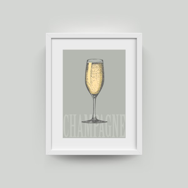 Champagne Artwork