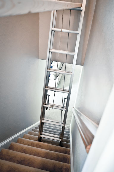 Paint It Proper : How To Paint A Tall Stairwell