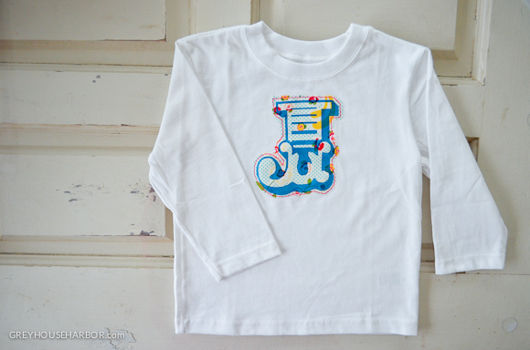 Make It: Letter Tee