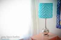how to rebuild a lampshade | Grey House Harbor
