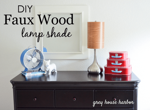 DIY-Faux-Wood-Lamp-Shade