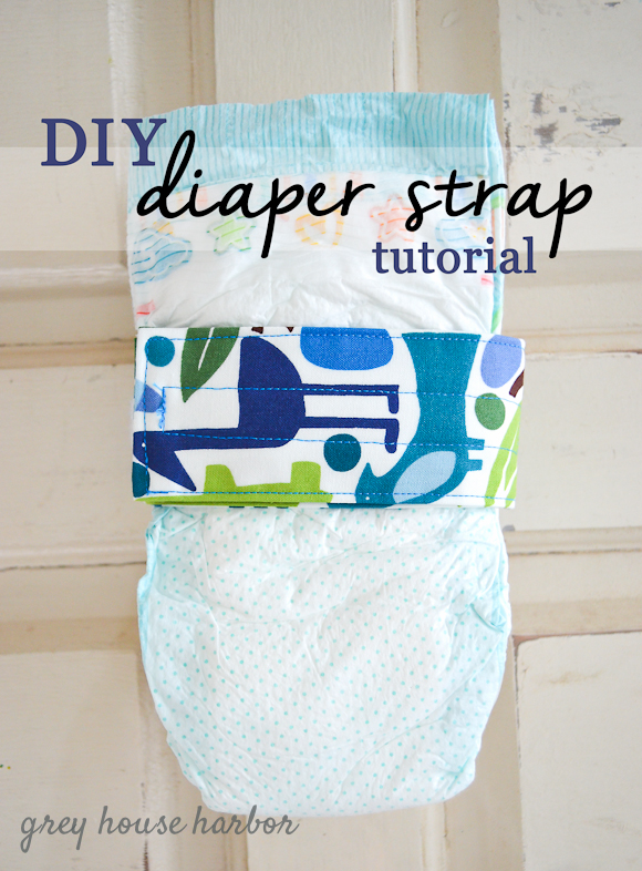 diaper strap tutorial