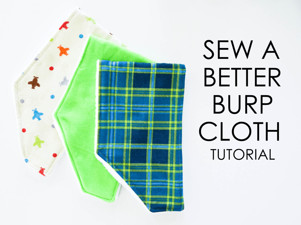 Better Burp Cloth | greyhouseharbor.com
