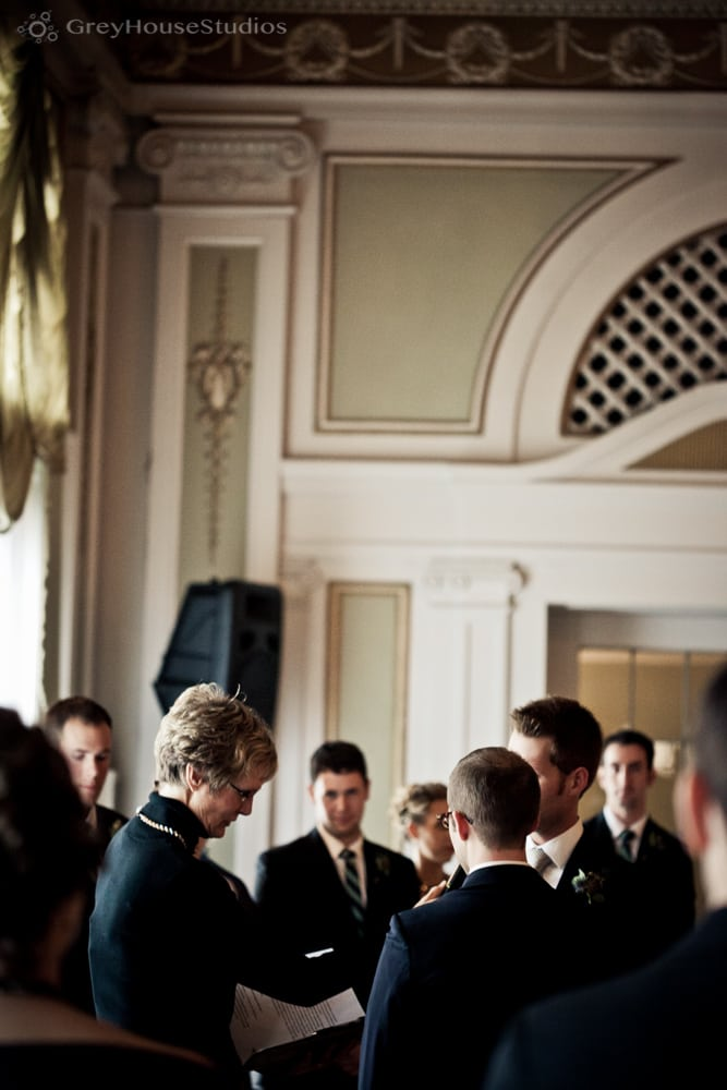 Matthew + Jordan's same-sex Greysolon Ballroom Wedding photos in Duluth, MN