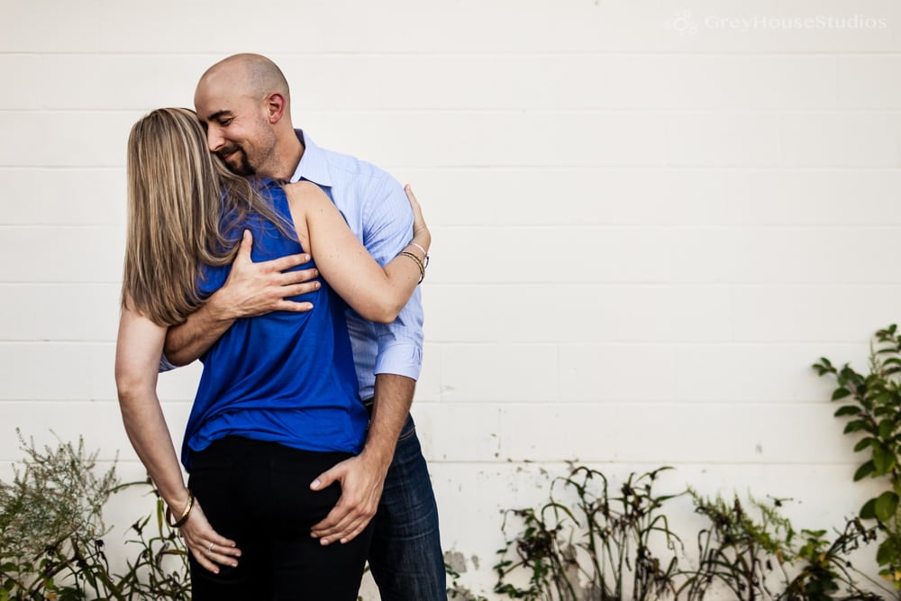 Jenny + Ben's City Engagement photos in New Haven, CT by GreyHouseStudios