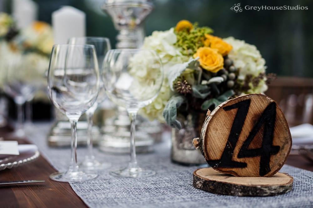winvian wedding photos farm table wedding details