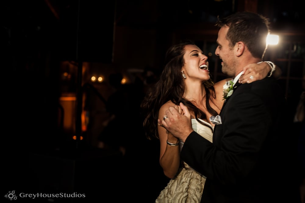 winvian wedding reception photos first dance bride and groom