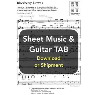 Sheet Music & Guitar TAB
