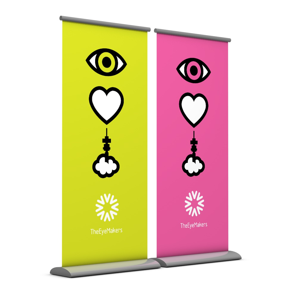 Eye Love Jozi pullup banners