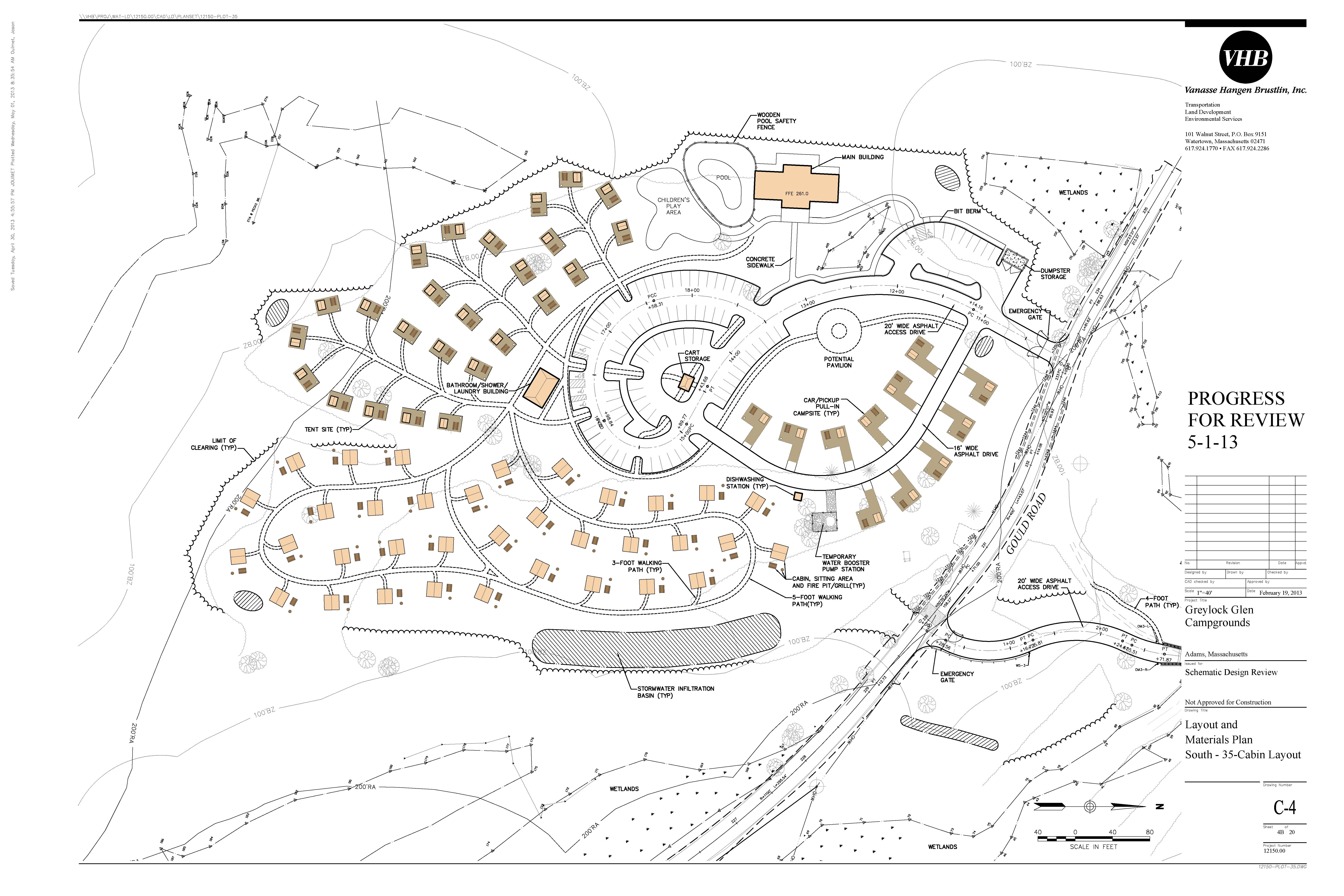 Private And Public Components Planned For Greylock Glen Resort