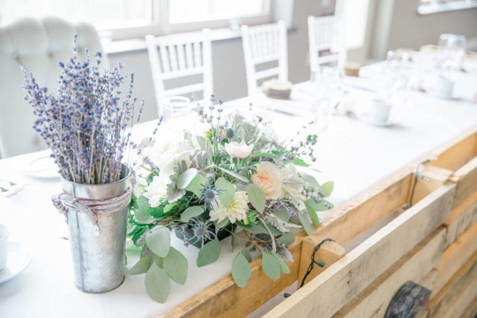 Lavendar Sprigs - Head Table - Lavender Rain Inspired Wedding - Le Belvedere- Grey Loft Studio- Ottawa Wedding Photographer - Affordable - Cheap - Fine Art - Best - Kanata Photographer - Wedding Videographer Ottawa - Light and Airy - Beautiful - Timeless - Organic Photographer Carp - Stittsville