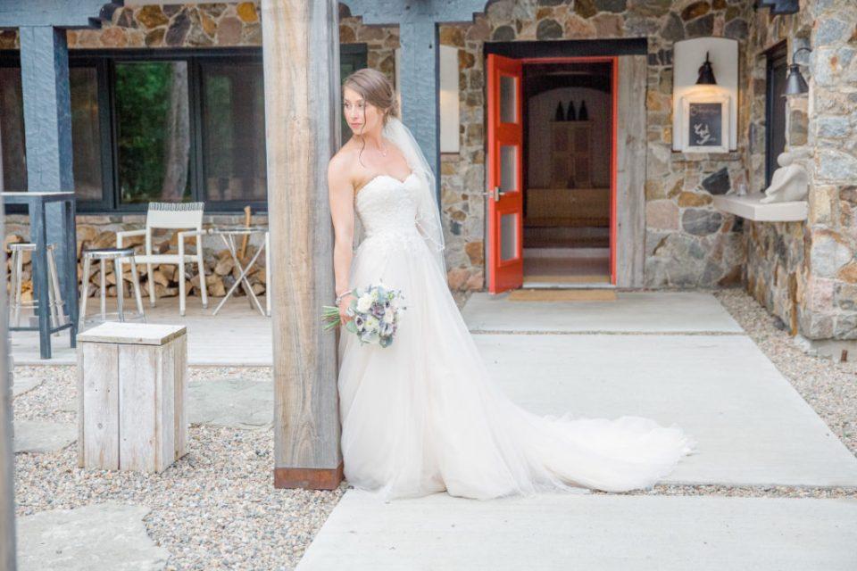 Bridal Pose - Bride alone - Lavender Rain Inspired Wedding - Le Belvedere- Grey Loft Studio- Ottawa Wedding Photographer - Affordable - Cheap - Fine Art - Best - Kanata Photographer - Wedding Videographer Ottawa - Light and Airy - Beautiful - Timeless - Organic Photographer Carp - Stittsville