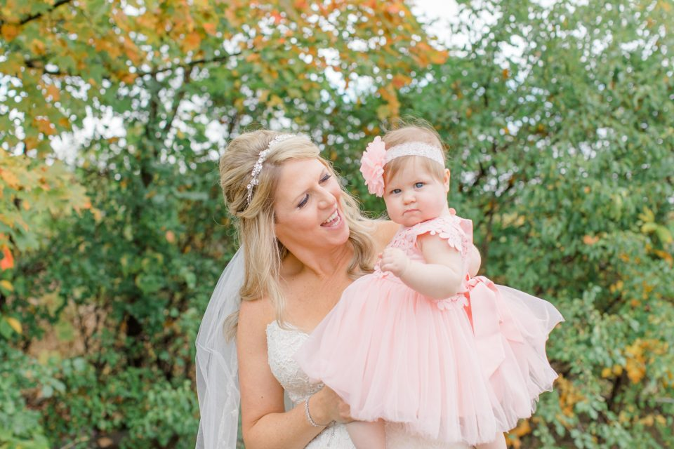 Mom & Daughter - Holy Spirit Catholic Church Stittsville - Bride with Bridesmaids - Black and White Theme Wedding - Romantic Wedding at NeXt in Stittsville - Grey Loft Studio - Ottawa Wedding Photographer - Ottawa Wedding Photo & Video Team