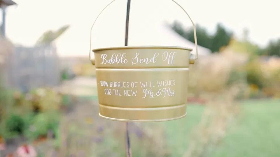 Bubble Send off - Bucket - Inspiration  Interlock, beautiful Landscapes at Evermore Weddings and Events, Almonte Ontario - Grey Loft Studio