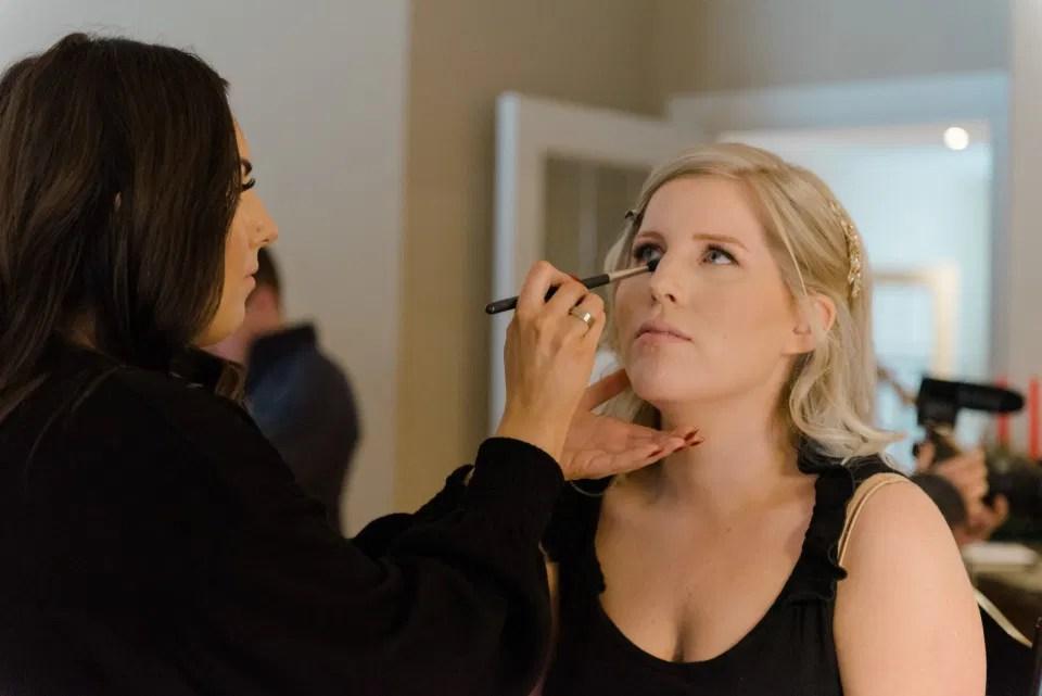 Steph Bullock Makeup - Ottawa - Bride on Wedding Day
