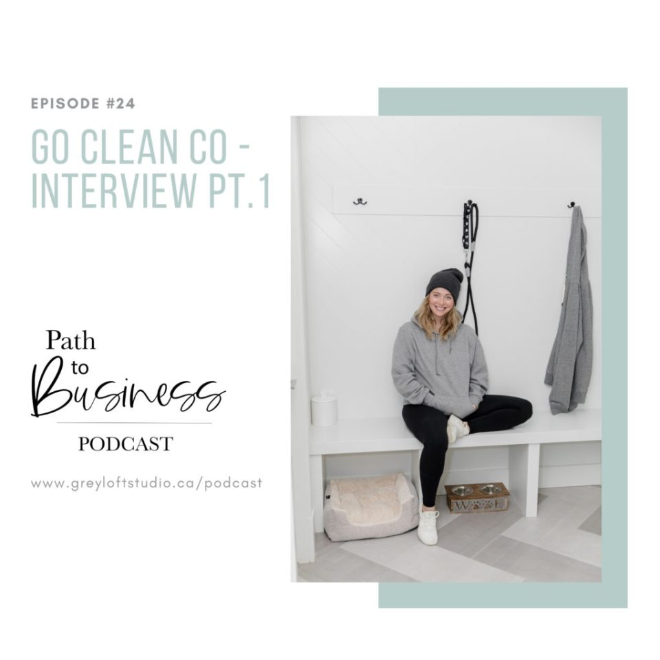 Go Clean Co - Sarah McAllister joins Bethany on the Path to Business Podcast talking all about how she grew her business from 10k followers to 1.7 million in less than a year!