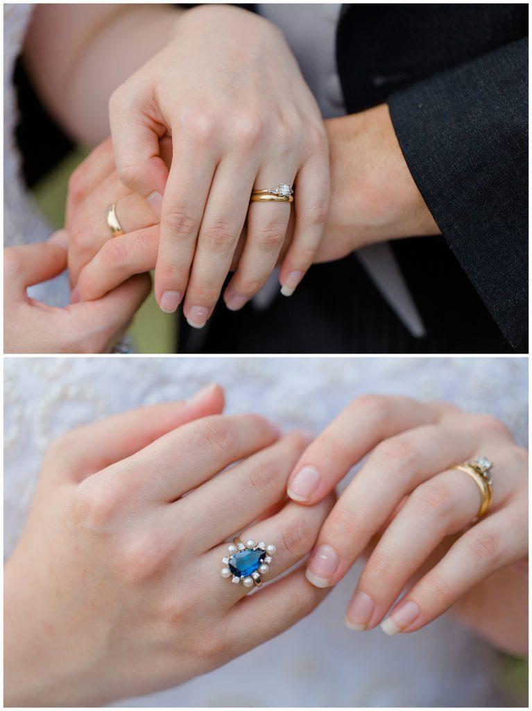 Ring Shot - Grandmother Blue Ring - Something Blue