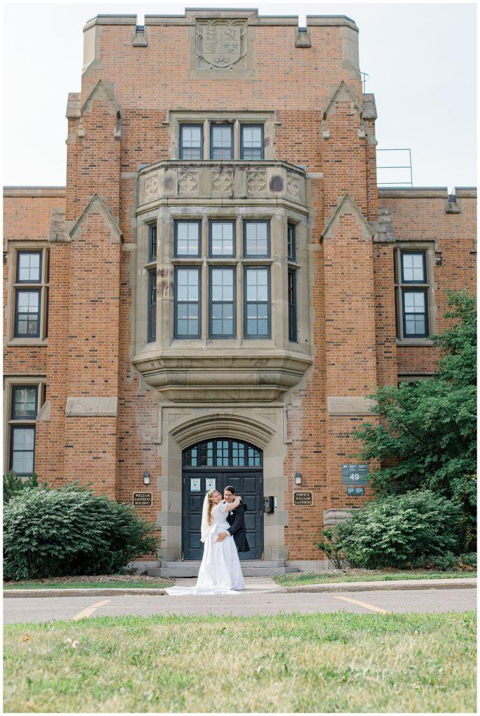 Bride and Groom Portraits -  Ottawa - Wedding Day - Grey Loft Studio - Wedding Photographer - Wedding Photographer near me