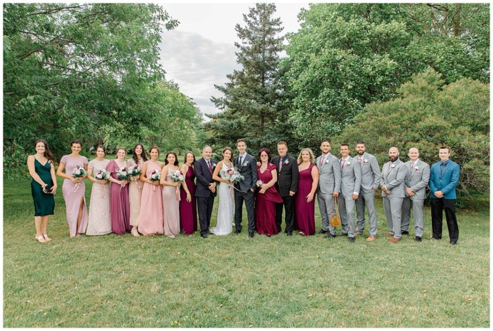 Bridal Party Portraits- Grey Loft Studio - Ottawa Wedding Photographer & Videographer -Light and Airy - Kanata, Westboro, Orleans - Luxury, Genuine, Affordable Photography.