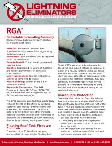 rga-retractable grounding assembly brochure