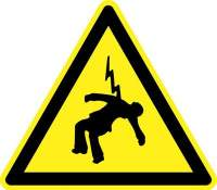 Earthing Systems Electrocution Warning