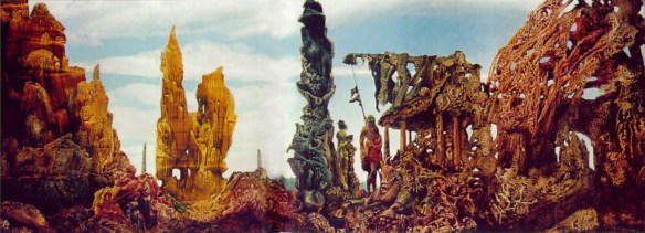 Max Ernst - Europe After the Rain II