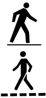 pedestrian icons (Canada)