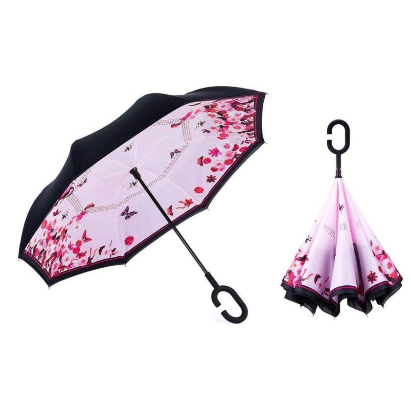 umgedrehter Regenschirm