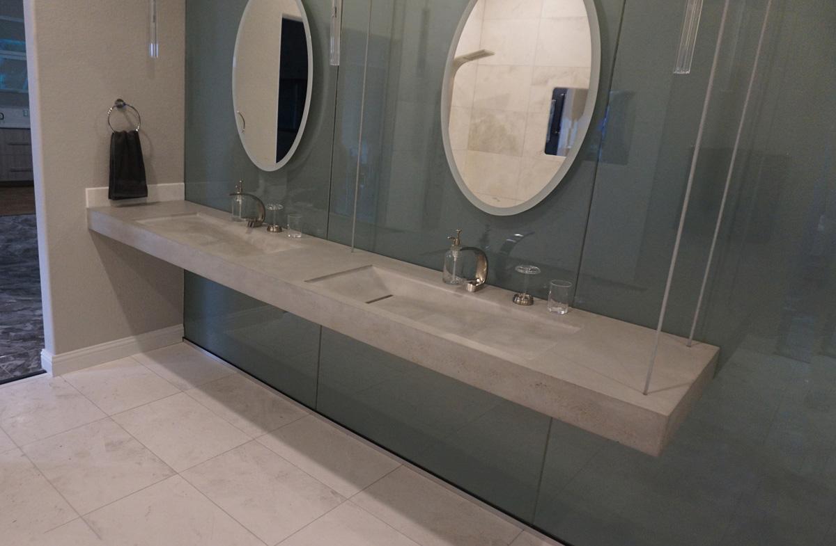 bathroom greyscape studio