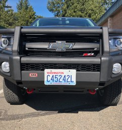 i received the 1st bumper shipped by arb for the 2015 chevy colorado that means that i am the first person in the usa to have this bumper installed and on  [ 4032 x 3024 Pixel ]