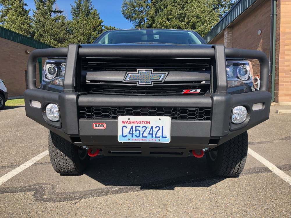 medium resolution of i received the 1st bumper shipped by arb for the 2015 chevy colorado that means that i am the first person in the usa to have this bumper installed and on
