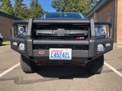 small resolution of i received the 1st bumper shipped by arb for the 2015 chevy colorado that means that i am the first person in the usa to have this bumper installed and on