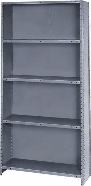 steel shelving